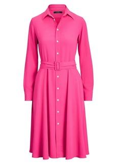 Ralph Lauren: Polo Long-Sleeve Belted Shirtdress