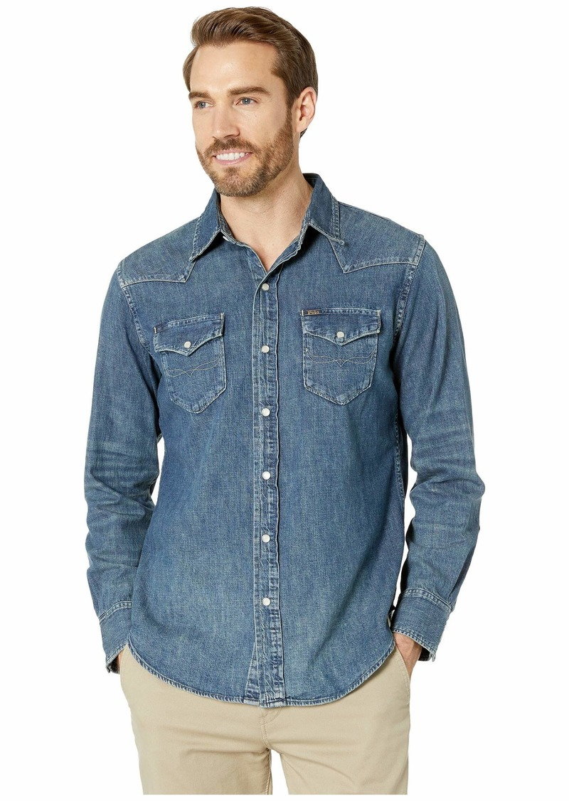 Ralph Lauren Polo Long Sleeve Denim & Chambray