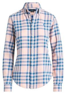 Ralph Lauren: Polo Long Sleeve Plaid Shirt
