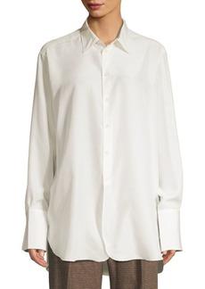 Ralph Lauren: Polo Long Sleeve Silk Shirt