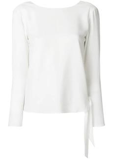 Ralph Lauren: Polo long sleeved ribbon top