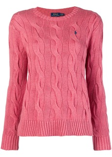 Ralph Lauren: Polo loose knitted top