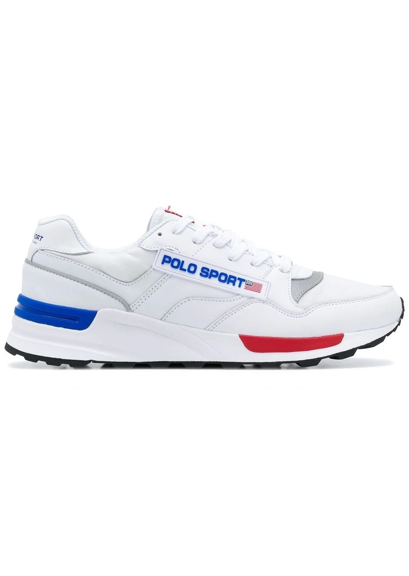 Ralph Lauren Polo low top logo sneakers