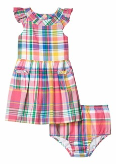 Ralph Lauren: Polo Madras Dress & Bloomer (Infant)