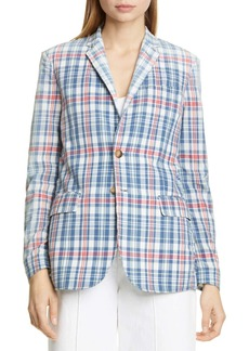 Ralph Lauren: Polo Madras Plaid Blazer