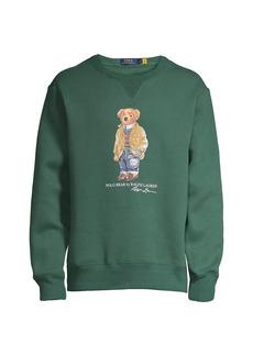 Ralph Lauren Polo Magic Fleece Polo Bear Sweatshirt