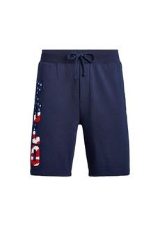 Ralph Lauren Polo Magic Fleece Polo Drawstring Shorts