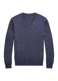 Ralph Lauren Polo Merino Wool V-Neck Sweater