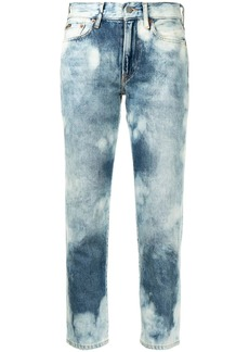 Ralph Lauren: Polo mid-rise cropped jeans