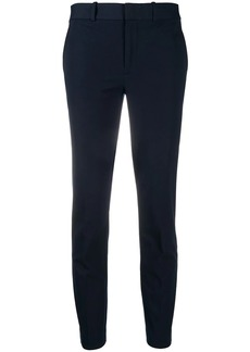 Ralph Lauren: Polo mid-rise cropped slim-fit trousers