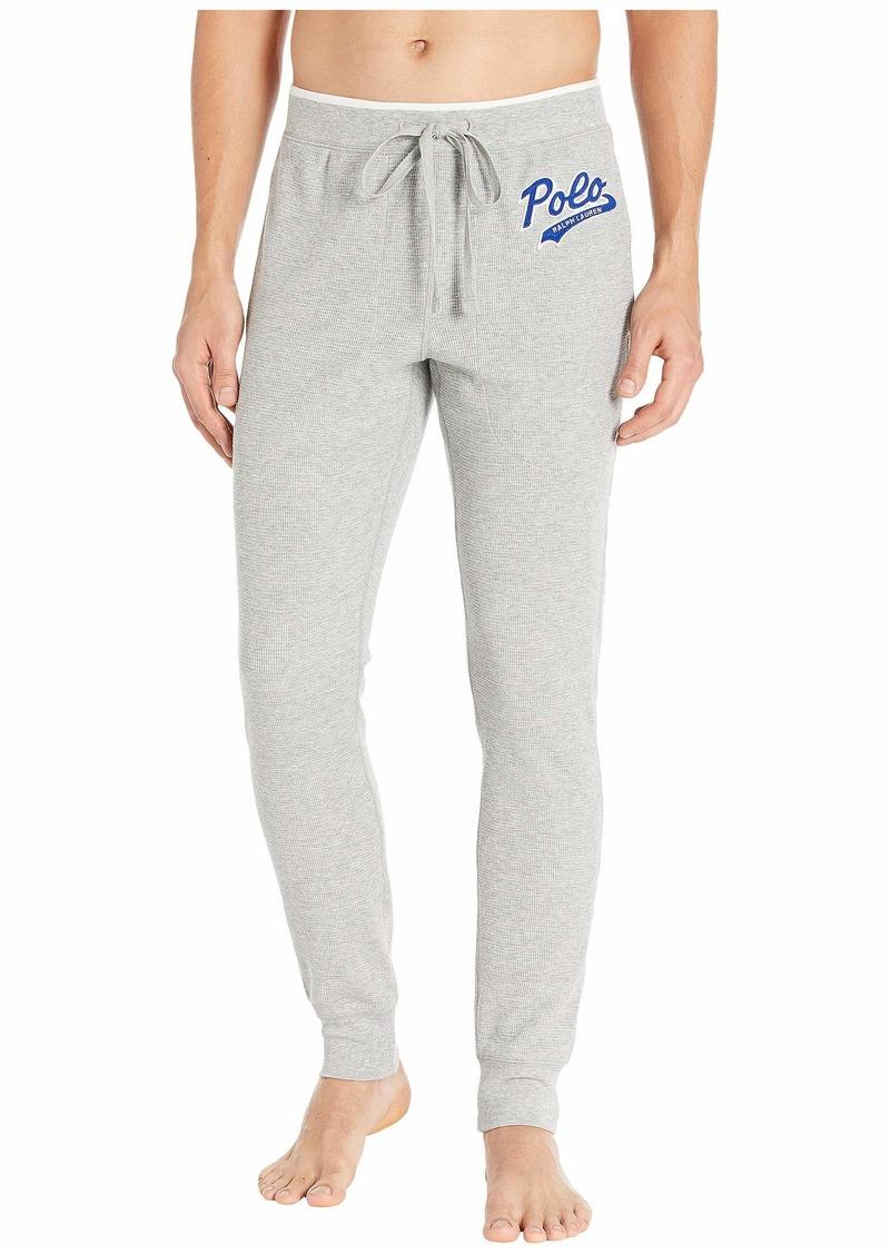 Ralph Lauren Polo Midweight Waffle Jogger Pants