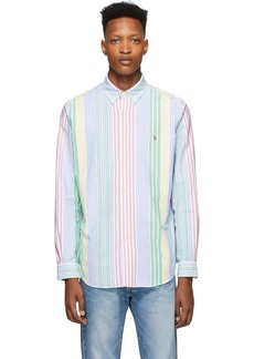 Ralph Lauren Polo Multicolor Striped Oxford Shirt