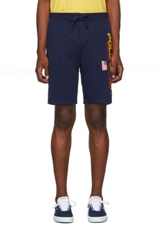 Ralph Lauren Polo Navy Fleece 'Polo Sport' Shorts