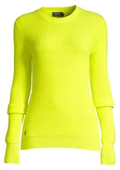 Ralph Lauren: Polo Neon Ribbed Crewneck Sweater