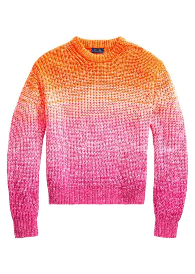 Ralph Lauren: Polo Ombre Wool Cashmere Sweater