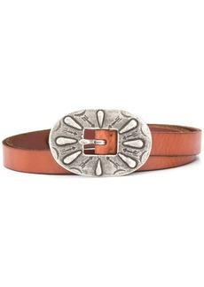Ralph Lauren: Polo oversized arrow engraved buckle belt