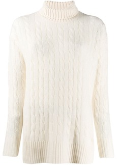 Ralph Lauren: Polo oversized roll-neck sweater