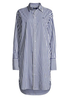 Ralph Lauren: Polo Oversized Striped Shirtdress