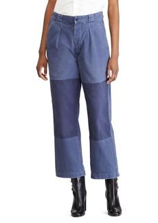 Ralph Lauren: Polo Patched Straight Leg Pants