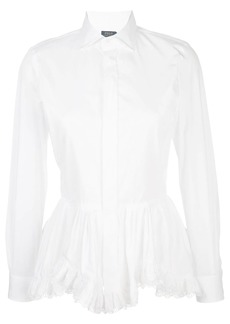 Ralph Lauren: Polo peplum broadcloth shirt