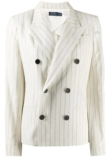 Ralph Lauren: Polo pinstripe double-breasted blazer