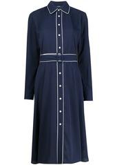 Ralph Lauren: Polo piped trim dress