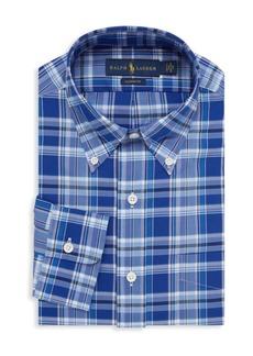 Ralph Lauren Polo Plaid Poplin Dress Shirt