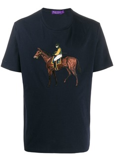 Ralph Lauren polo player embroidered T-shirt