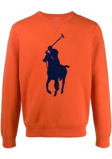 Ralph Lauren polo player embroidery sweatshirt