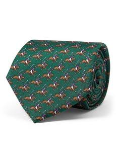 Ralph Lauren Polo Player Silk Narrow Tie