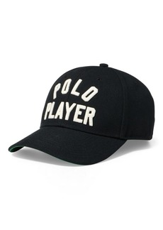 Ralph Lauren Polo Player Twill Baseball Cap