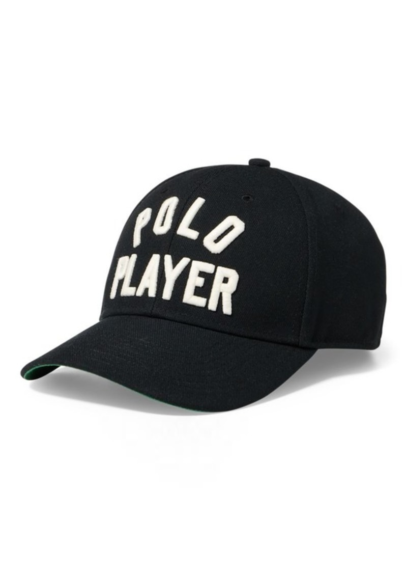 On Sale today! Ralph Lauren Polo Player Twill Baseball Cap 90465224dcf