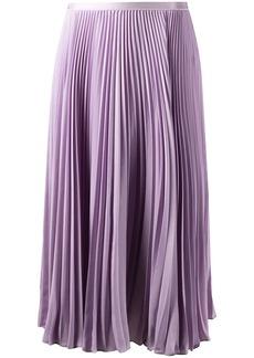 Ralph Lauren: Polo pleated knee-length skirt