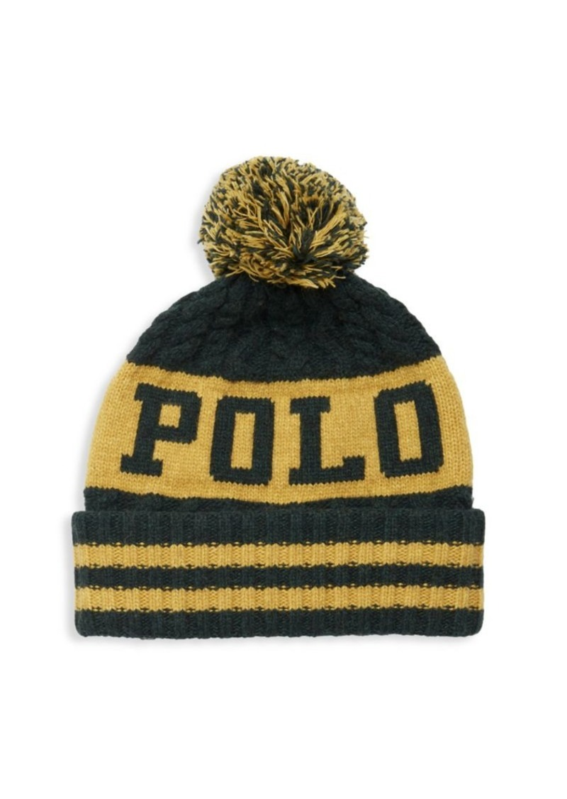 Ralph Lauren Polo Polo 1967 Aran Cuff Hat