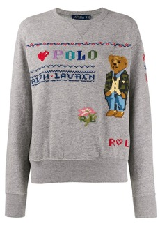 Ralph Lauren: Polo Polo Bear embroidery sweatshirt