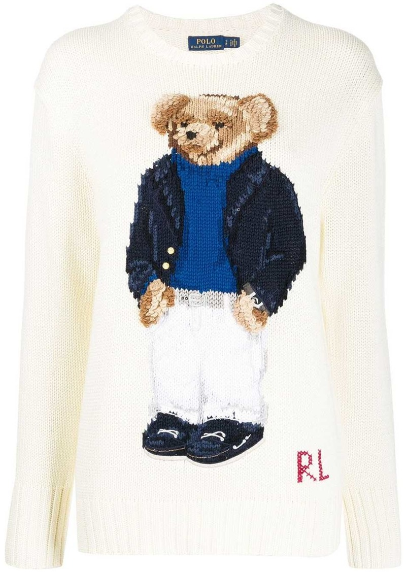 Ralph Lauren: Polo Polo Bear logo jumper