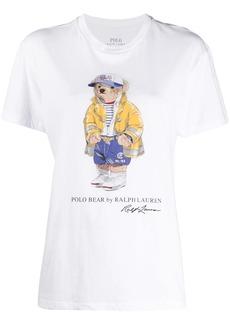 Ralph Lauren: Polo Polo Bear-print cotton T-shirt