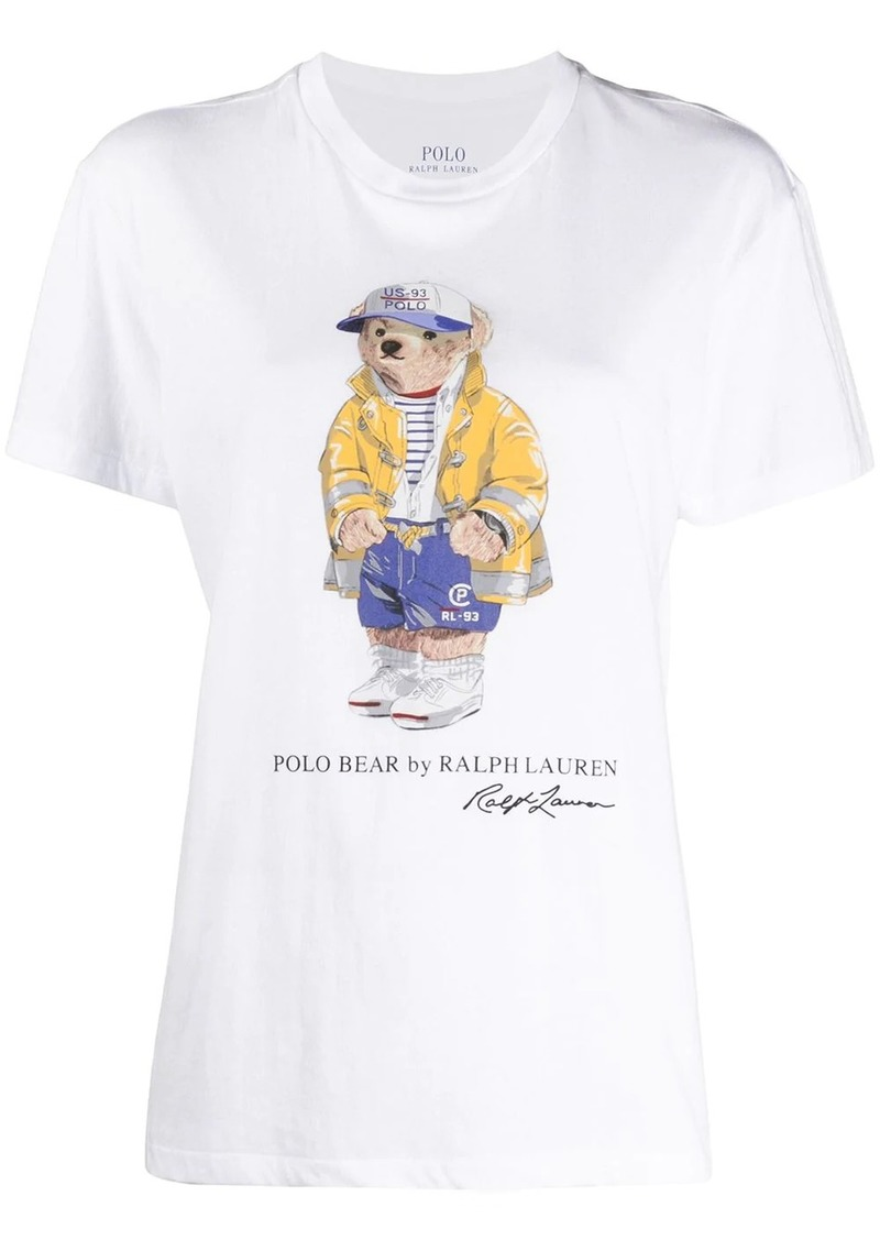 Ralph Lauren: Polo Polo Bear-print cotton T-shirt
