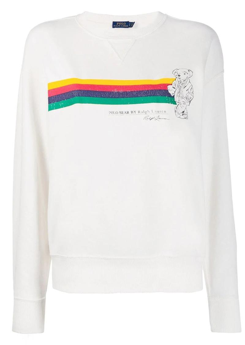 Ralph Lauren: Polo Polo Bear print sweatshirt