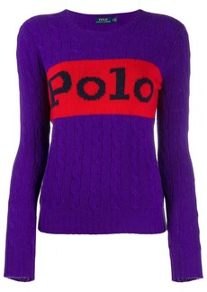 Ralph Lauren: Polo Polo cable knit jumper