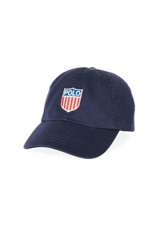 Ralph Lauren Polo Polo Embroidered Flag Logo Hat