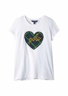 Ralph Lauren: Polo Polo Heart Graphic T-Shirt (Little Kids/Big Kids)