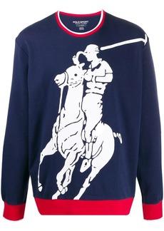 Ralph Lauren Polo polo player logo sweatshirt