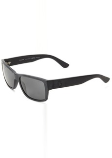 Ralph Lauren: Polo Polo Ralph Lauren Men's PH4061 Square Sunglasses