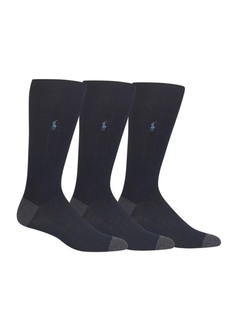 Ralph Lauren Polo Polo Ralph Lauren 3-Pair Socks