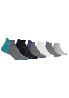 Ralph Lauren: Polo Polo Ralph Lauren 6-Pk. Low-Cut Athletic Socks