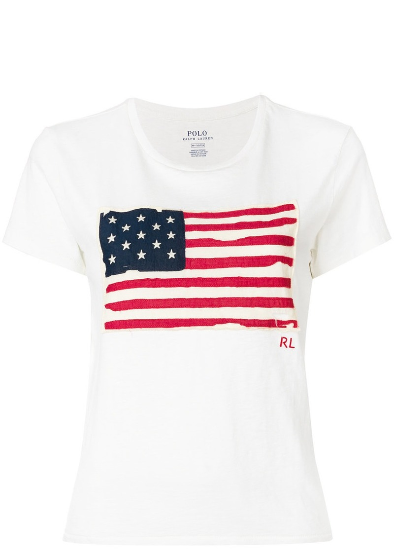Ralph Lauren: Polo American Flag T-shirt