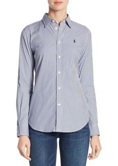 Ralph Lauren: Polo Polo Ralph Lauren Andrew Kendal Stretch Slim-Fit Striped Shirt
