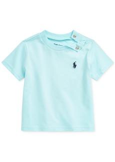 Ralph Lauren: Polo Polo Ralph Lauren Baby Boys Cotton Jersey Crewneck T-Shirt