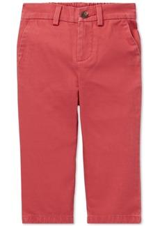 Ralph Lauren: Polo Polo Ralph Lauren Baby Boys Flat-Front Cotton Chino Pants